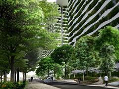 Проект жилого комплекса Diamond Lotus в Хошимине от Vo Trong Nghia Architects