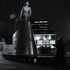 20151024Adam_125th.jpg (ryanlandell) Tags: blackandwhite man black adam st night walking pentax clayton flag jr powell 125thst 125th qs1 adamclaytonpowelljr haelem 01lens rlxpress