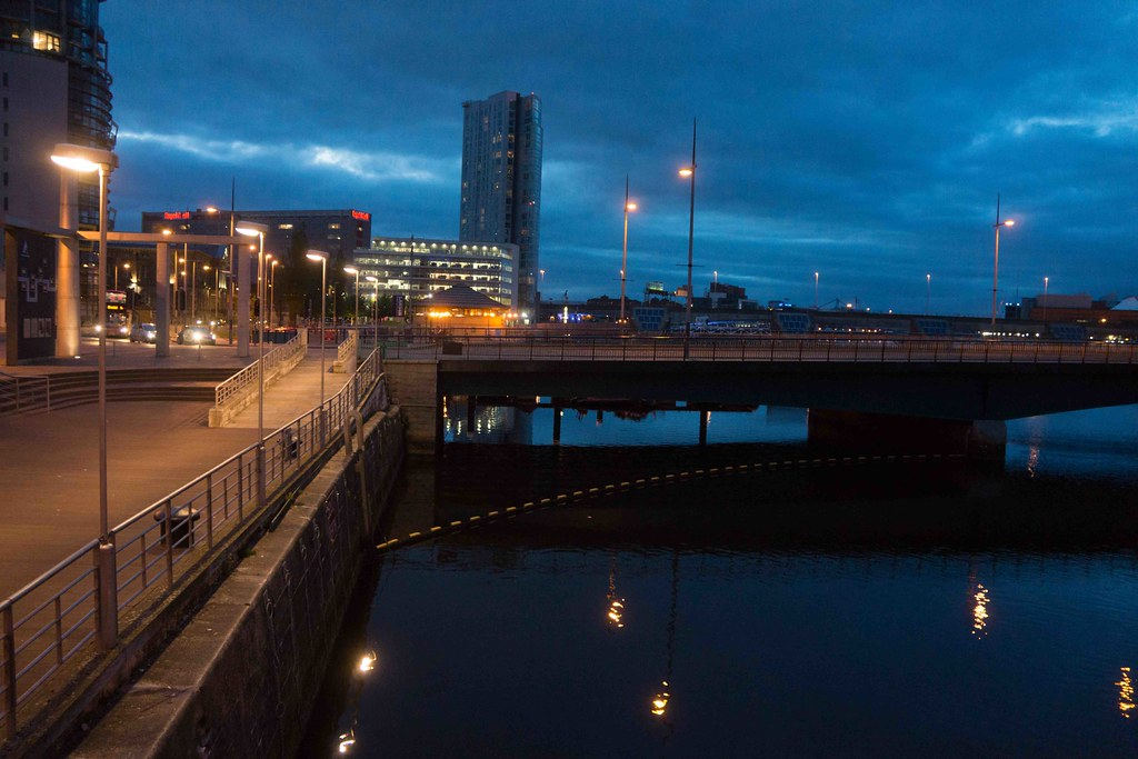 Nightview Of Belfast City September [A Very Wet Day]-108853