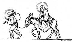 anton Pieck ill  a  1931 (janwillemsen) Tags: christmas 1931 antonpieck magazineillustration