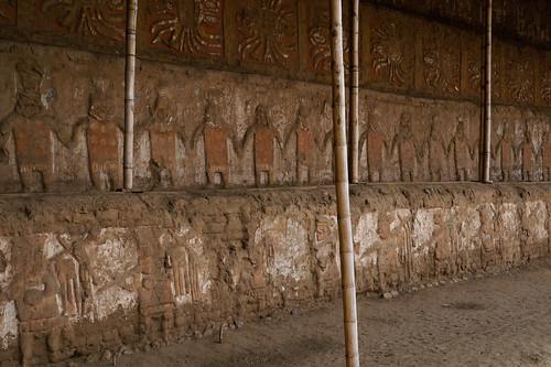 El muro de la fachada principal