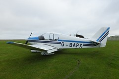 Avions Pierre Robin CEA DR400/160 Chevalier G-BAPX (Old Buck Shots) Tags: egsv ks keith sowter