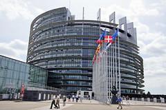 Straburg - Strasbourg (Magdeburg) Tags: strasburg frankreich strasbourg france estrasburgo francia   strassburg europisches parlament parlement euroren palais de leurope european parliament europischesparlamentstrasburg parlementeuroren palaisdeleurope europeanparliament europischesparlament