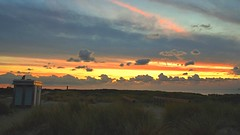 Sunset - The Netherlands (ToSti NL) Tags: sunset coucherdesoleil clouds sky landscape paysage coast sea northsea netherlands lighthouse
