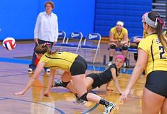 IMG_10397 (SJH Foto) Tags: girls volleyball high school lampeterstrasburg lampeter strasburg solanco team tween teen east teenager varsity dive action shot burst mode
