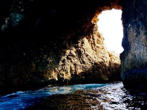 Comino's cave.