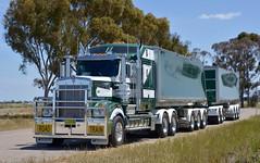 McNaughts (quarterdeck888) Tags: trucks truckies transport australianroadtransport roadtransport lorry primemover bigrig overtheroad class8 heavyvehicle highway road truckphotos nikon d7100 movingtrucks jerilderietrucks jerilderietruckphotos quarterdeck frosty expressfreight generalfreight logistics overnightfreight highwayphotos semitrailer semis semi flickr flickrphotos kenworth t909 mcnaughts roadtrain roadtraintippers jamison dolly