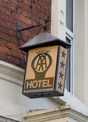 Old AA hotel rating sign IMG_8991 (rowchester) Tags: aa hotel guidance sign old rating star four