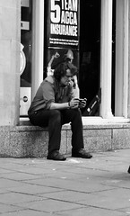 IMG_4996-150 (immieHawks) Tags: man bristol urban streetphotography smoke smoking work break photo phone