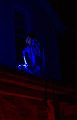 Rasta Ghoul (rumimume) Tags: potd rumimume 2016 niagara ontario canada photo canon 550d t2i sigma halloween fall autumn night