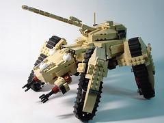 HAW-224 (obscurance) Tags: lego ghostintheshell standalonecomplex moc afol zio haw224 tank thinkingtank mecha cyberpunk
