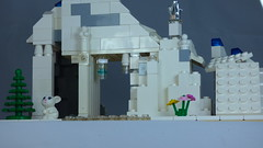Brick Yourself Custom Lego Set Ski Slope 3