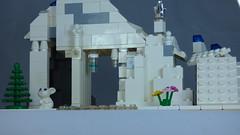 Brick Yourself Custom Lego Set Ski Slope 3