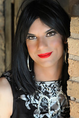 Evening Gown 7 (Hannah McKnight) Tags: tgirl transgender transgirl model crossdress crossdresser evening gown
