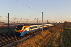 All the 2s (TimEaster) Tags: eastmidlandstrains easthyde mml midlandmainline train winter polephotography class222 meridian