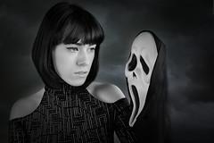 In the dead of night.... (DaisyDeeM) Tags: dead ghost spirit nightmare scary model horror halloween fun hair beauty dark