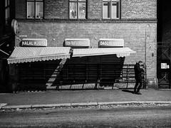 P1010058-Edit-2 (Knut Arne Gjertsen) Tags: bw blackandwhite photographerknutarnegjertsen achromatic blancoynegro candid man mono monochrome night street streetphotography streetshot oslo norway