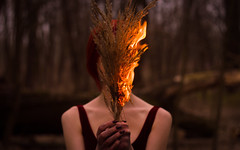 feral flame (Moonpollution) Tags: autumn fire flowers red forest girl beauty sunset color hands nature light outdoor abstract beautiful model art black darkness colorful dirt flame gloom pollution fingers melancholy mud feral murk moonpollution