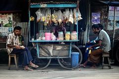Friday Afternoon Blues (N A Y E E M) Tags: teastall people men friday afternoon today street kazirdewri chittagong bangladesh carwindow