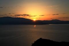 Sunrise at Garda Lake (BereniceAndavaSalvata) Tags: lake gardalake sunrise alba lago lagodigarda