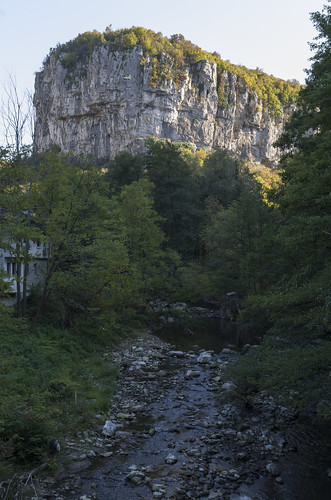 Dryanovska River and cliffs, 11.10.2014.