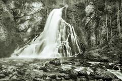 """ Waterfall Salzburg "" (Kalbonsai) Tags: monochrome bw waterfall waterval waterscape outdoorphotography naturshot austria oostenrijk salzburg alpen bergen mountain nikon d5100 1685mm"