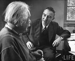 #Robert Oppenheimer meets Albert Einstein at Princeton in 1947 [1280  1053] #history #retro #vintage #dh #HistoryPorn http://ift.tt/2g1L7um (Histolines) Tags: histolines history timeline retro vinatage robert oppenheimer meets albert einstein princeton 1947 1280  1053 vintage dh historyporn httpifttt2g1l7um
