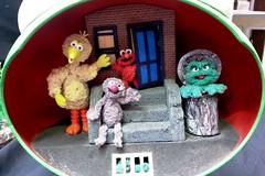 Sesame Street (The Shopping Sherpa) Tags: nzame nzameconvention2016 miniature aliewakelin sesamestreet