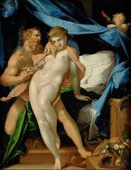 Vulcan and Maia (lluisribesmateu1969) Tags: 16thcentury mythology spranger notonview kunsthistorischesmuseumwien vienna