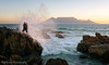 How Not to Photograph Table Mountain (Panorama Paul) Tags: paulbruinsphotography wwwpaulbruinscoza southafrica westerncape capetown tablemountain blaauwbergbeach photographer rocks waves beach sunset nikond800 nikkorlenses nikfilters