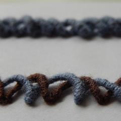 More lines (Landanna) Tags: lines lijnen embroidery embroideryonpaper broderippapir broderi borduren bordurenoppapier bullionknot bullionknude square
