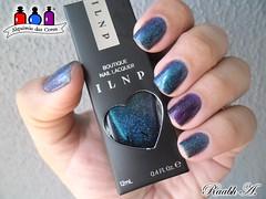 Semana ILNP - Interstellar & Storytelling (Raabh Aquino) Tags: unhas esmaltes ilnp indie multichrome hologrfico holographic nail nailpolish azul blue roxo purple