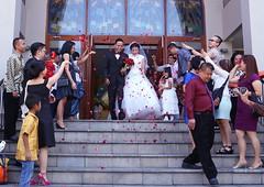Anjar Wedding's (Ragil Ticilius) Tags: ragilticilius selfportraitmanagement canon eos bali kuta stfransiskusxaveriuschurch stfransiskusxaveriuskutabali wedding indonesia anjarwahyuadi vanessalin