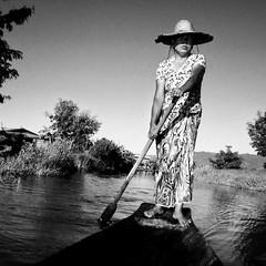 Boat ride (pacco_racco) Tags: boatride river floatingvillages monochrome blackwhite myanmar