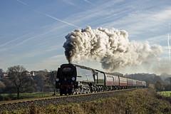 Burrs Santa (Nigel Gresley) Tags: 34092 city wells steam locomotive burrs country park santa special