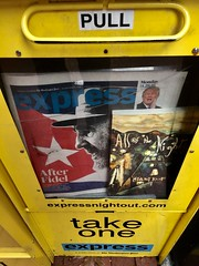 All of the Night: Acquire your Copy (The Big Jiggety) Tags: book novel roman novela libro livre humor humour umor michael kent fidel castro newspaper express journal periodico zaitung giornale newspaperbox