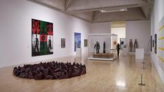 Inside Tate Britain (cdb41) Tags: tate britain millbank sw6 red slate circle richard long gilbert george bed antony gormley