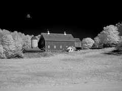 PA090088 - Central Vermont (Syed HJ) Tags: vermont vt rockinghamvt rockingham infrared ir rural ruralamerica blackandwhite blackwhite bw 950nm barn farm farmhouse farmland olympusomdem5 olympusem5 olympus em5 olympusmzuikodigitaled1442mmf3556iir olympusmzuiko1442mmf3556 olympus1442mmf3556 olympus1442mm 1442mm