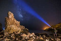 IMG_8641 La Algameca - Cartagena -  Murcia - Spain (digsoto - Diego Soto) Tags: nature night stars largeexposure longexposure algameca cartagena spain sea murcia