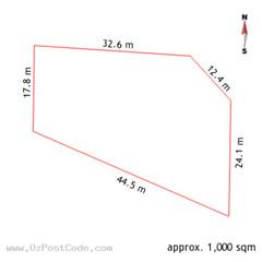 7 Brophy Street, Fraser 2615 ACT land size