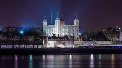 _DSC9165 (slackest2) Tags: london thames river night lights water sky tower traitors gate