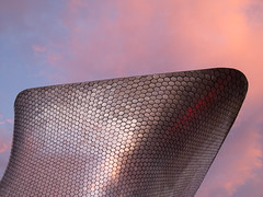 Museo Soumaya (PetacasFlu) Tags: mexico city soumaya museum future futurist sunset hexagons