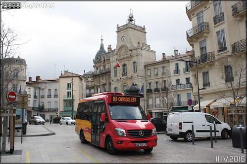 Mercedes-Benz Sprinter - Transdev Urbain / Béziers Méditerranée Transports n°80
