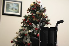 Christmas (Marcos Vinicius Ducatti) Tags: elderly christmas disabled elder chair