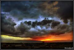 Strom is coming - Quetta, balochistan (hammadjaved) Tags: quetta pakistan balochistan travel strom rain sunset