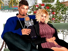 Family Park Outing (PREACHMANSON) Tags: firestormsecondlife family harts love park carson