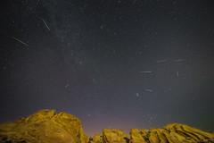 Perseids 2015 (KayOne73) Tags: ca night shower los agua nikon rocks long exposure angeles tokina f 28 meteor dulce vasquez 2015 d600 1635mm perseids