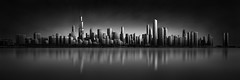Urban Saga I - Chicago Skyline (Julia-Anna Gospodarou) Tags: architecture buildings cityscape fineart contrasts modernarchitecture manfrotto architecturalphotography blacksky chicagoarchitecture skylinechicago canontse24mm canon5dmk3 photographydrawing blackandwhitefineartphotography fineartarchitecturalphotography visionography juliaannagospodarou hitechprostopirnd envisionography