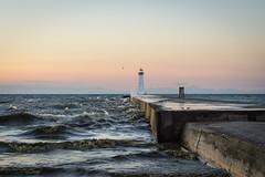 20150805-DSC_0350 (the Mack4) Tags: sunset lighthouse newyork water pier waves august webster 2015 soduspoint
