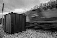 Southbound (Jason Lowe Photography) Tags: railroad blur train track distorted fast railway trains coal railfan monongahela csx